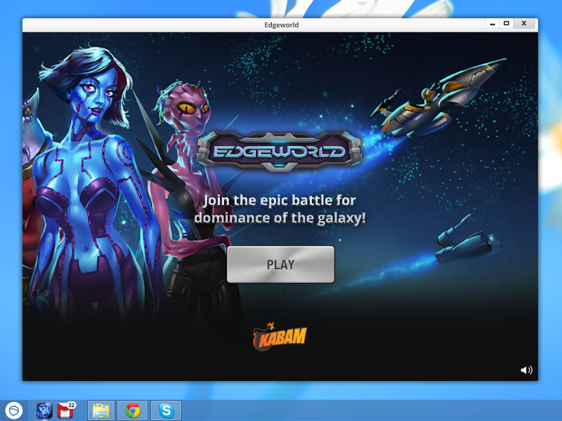 Edgeworld is a free multiplayer desktop game