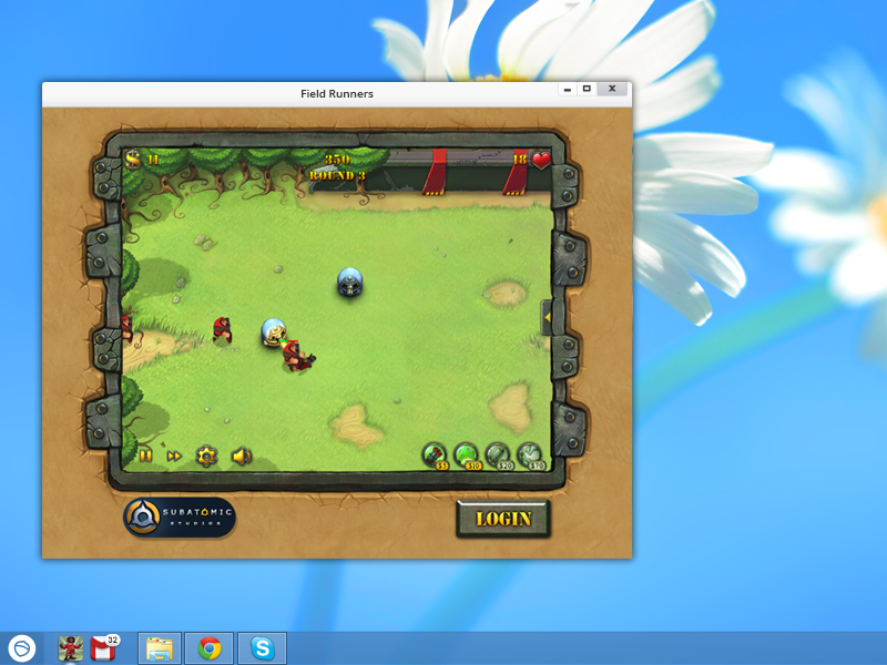 Click to view FieldRunners for Pokki screenshots