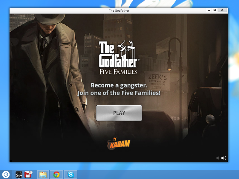 The Godfather is a free strategy desktop game